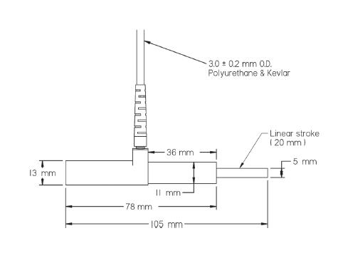 fod光纤位移传感器